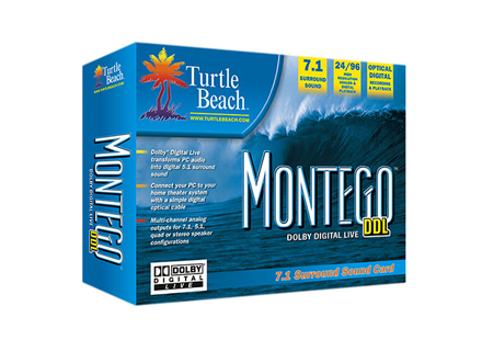2005-Turtle Beach introduces the Montego™ DDL