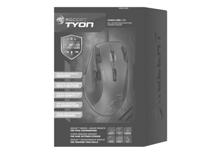 2014 – ROCCAT launches the Tyon - grey