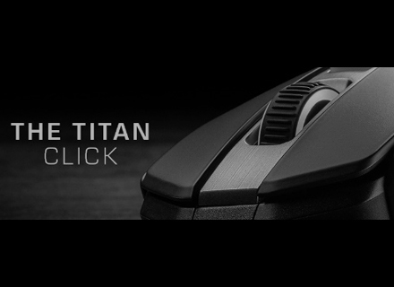 2019 – ROCCAT launches the Kain PC gaming mouse featuring Titan Click - grey